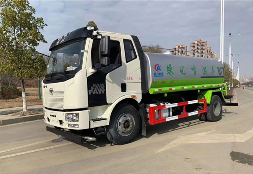 Euro  Sixth  Faw  13 Ton Water Truck Picture