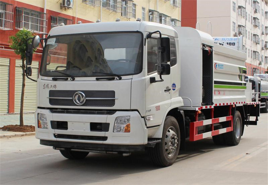 یورو سکس ڈونگفینگ تیآنجن دھول دبانے والے ٹرک کی تصویر