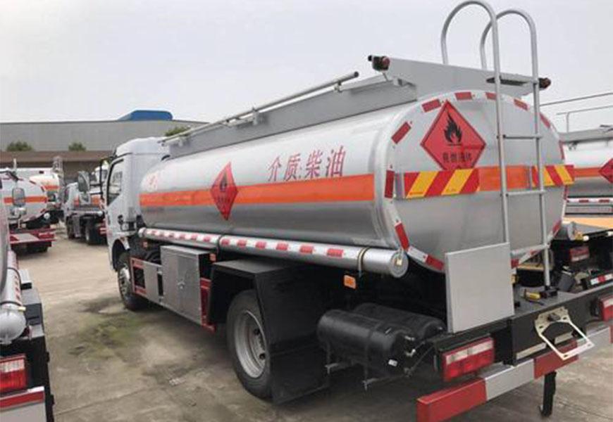 Dongfeng Capite 5 Tonelada Camión Cisterna de Combustible Euro VI