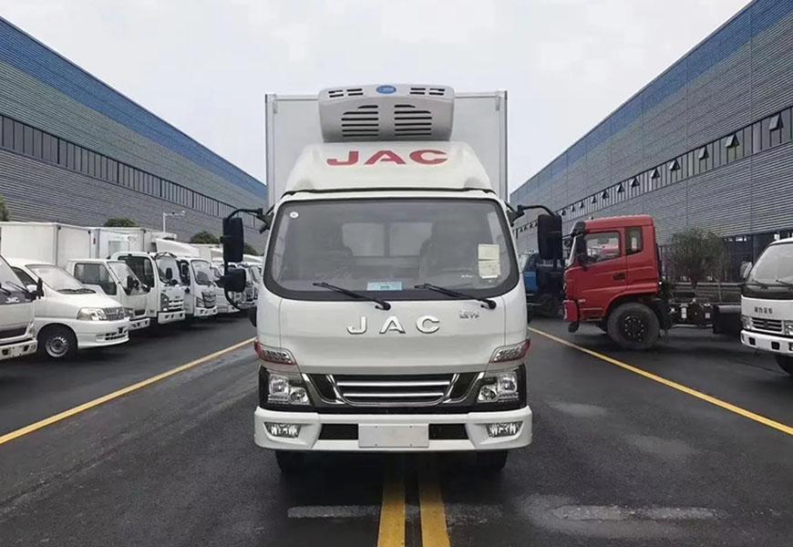 Photo de la carrosserie du chariot réfrigéré JAC Junling V5 Euro VI