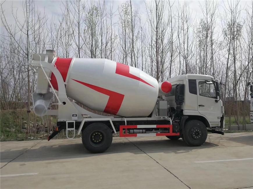 Luft- und Raumfahrt Wanshan 6 cbm mischer lkw