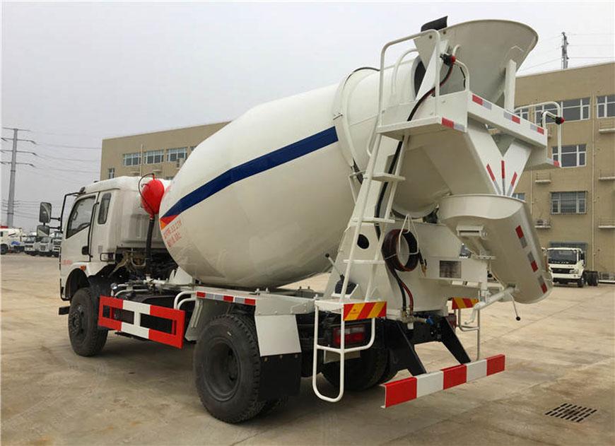 Dongfeng Shenyu 6 caminhão betoneira cbm