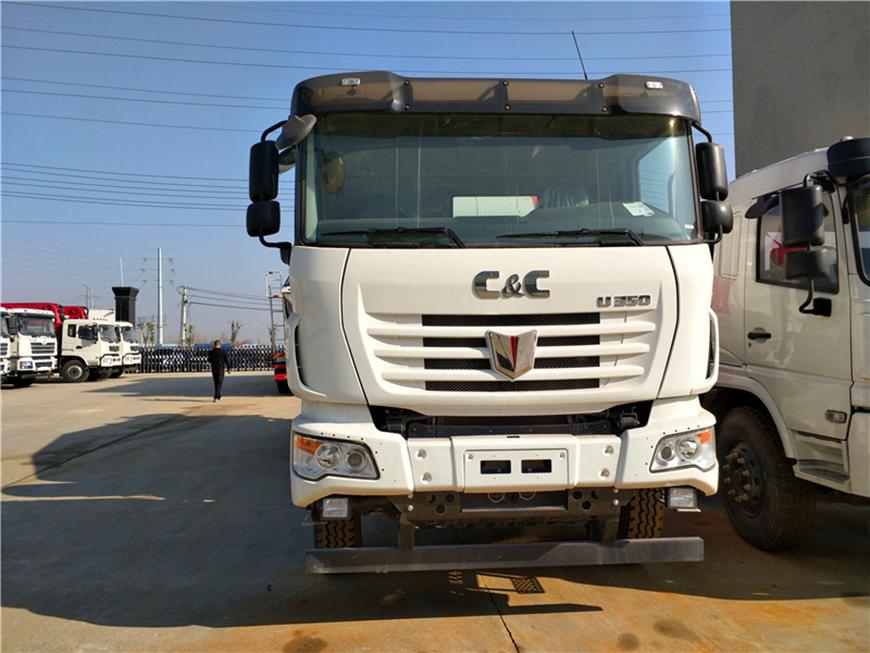 Caminhão pesado unido 12 caminhão betoneira cbm