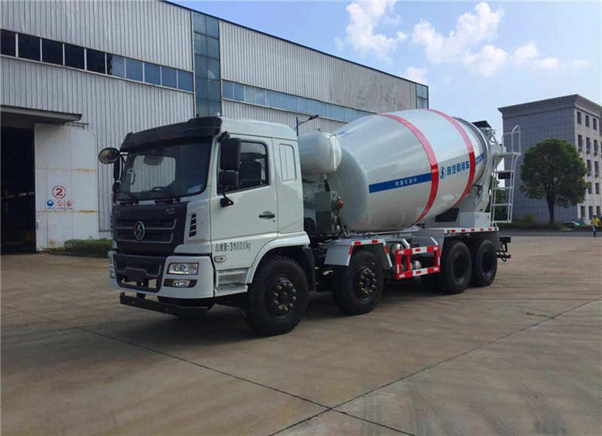 Shaanxi Automobile Delong 12 camion malaxeur cbm