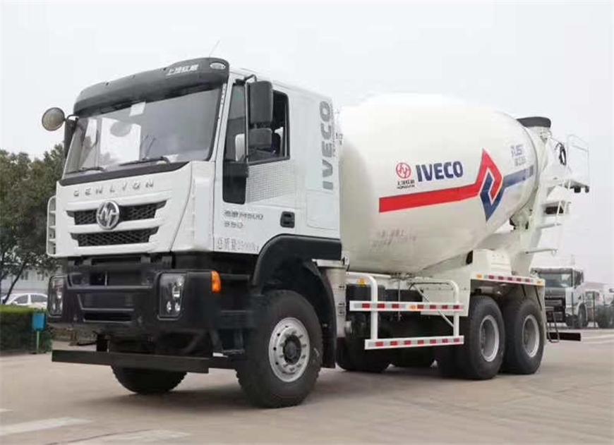Hongyan Jieshi 14 cbm mixer truck