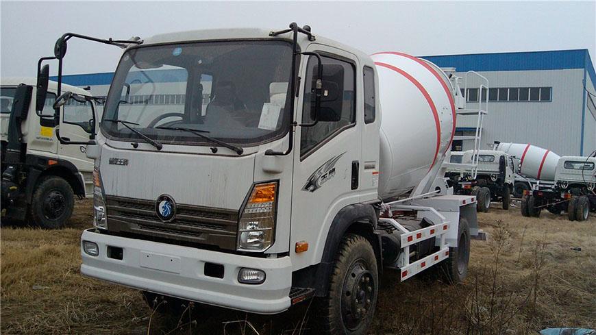 Sinotruk ace 5 cbm mixer truck