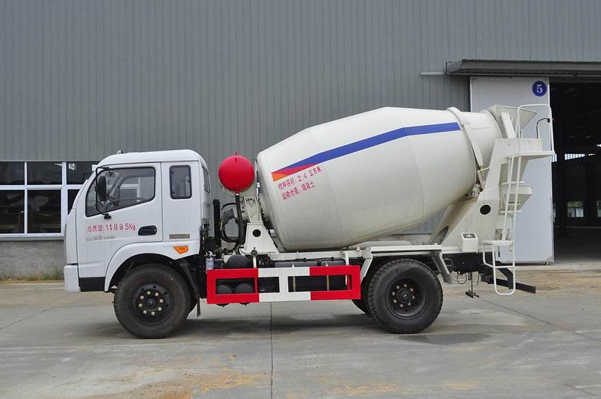 Hyundai Nanjun 5 автобетоносмеситель