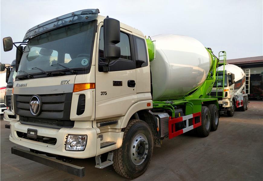 Foton Auman 14  cbm  mixer truck
