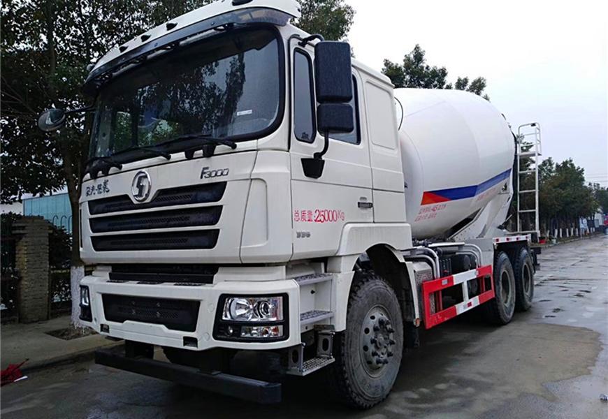 Shacman Automobile Delong 14  cbm  mixer truck