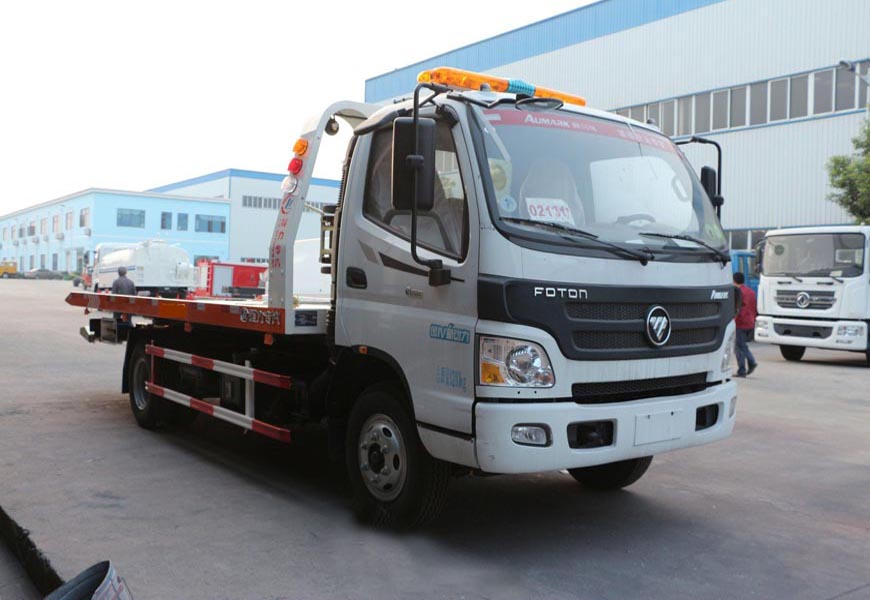 福田欧马可CLW5080TQZB5一拖二清障车